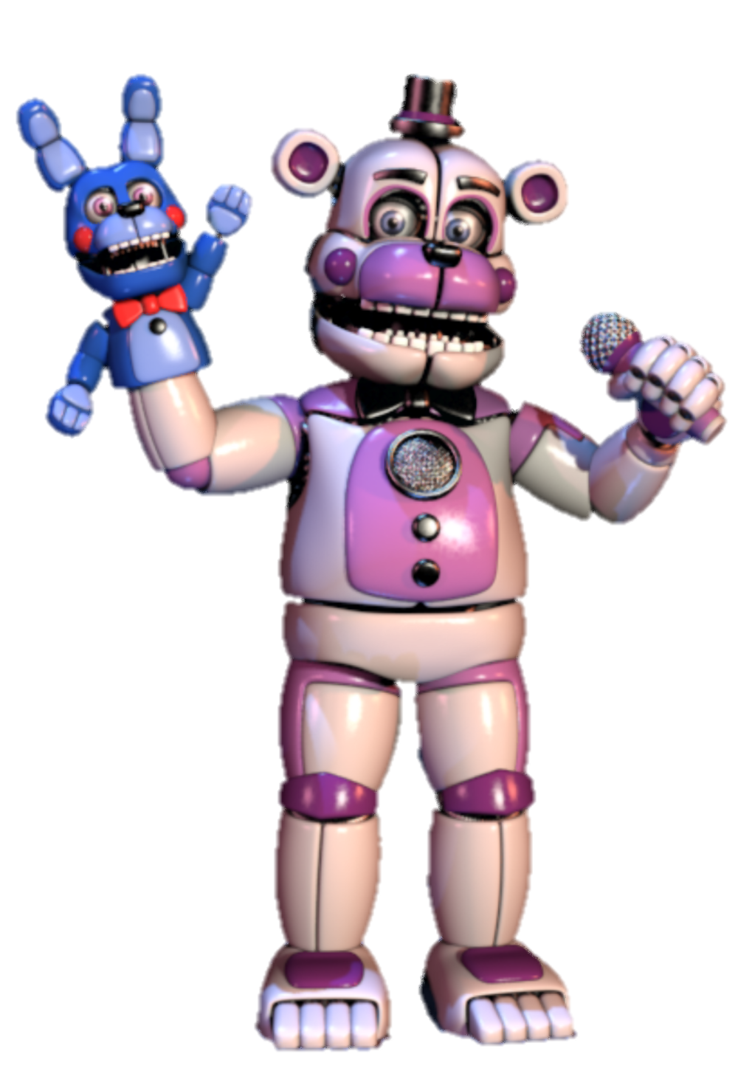Funtime Freddy and Bon-Bon