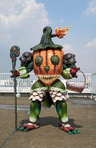Jack-o'-lantern Minosaur