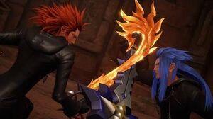 Kingdom Hearts 3 Saix Boss Fight 21