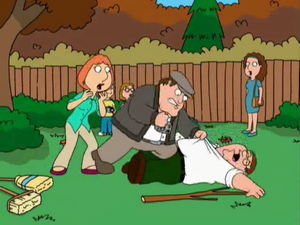 Leafer Beats Up Peter