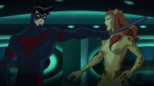 Nightwing and Flash vs
