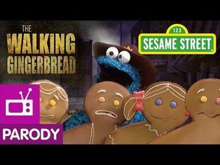 Sesame Street- The Walking Gingerbread (The Walking Dead Parody)
