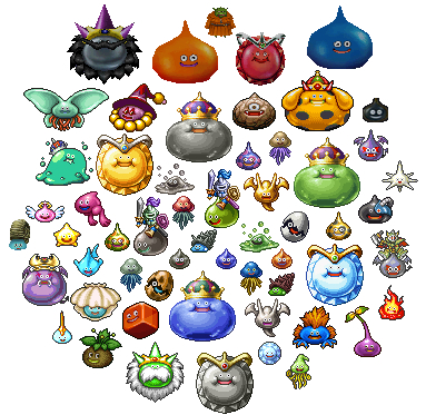 Slimes (Dragon Quest)