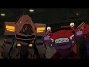 Clampdown and Quillfire (Combiner Force Ep. 18)