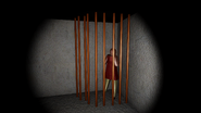 Mary Beth Barker In A Cage