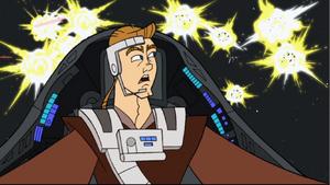 Skywalker shocked