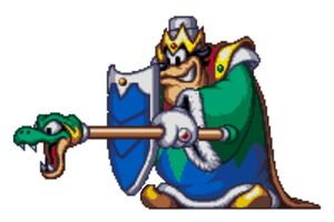Armored King Pete