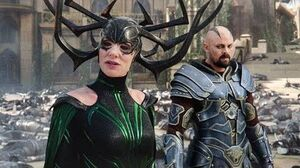 Hela vs The Legion of Asgard - Fight Scene - Thor Ragnarok (2017) Movie CLIP HD