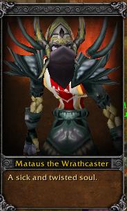 Mataus the Wrathcaster