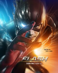 The Flash Finish Line poster