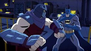 Batman vs TMNT Batman vs Shredder