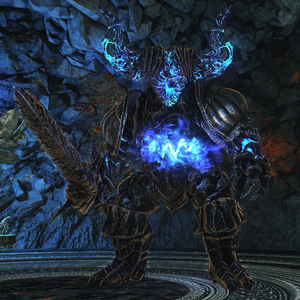 Blue Smelter Demon