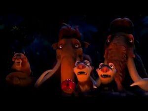 Ice Age 3 - Bucks campfire story