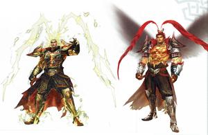 Lu Bu Deification Concept Art (WO4)