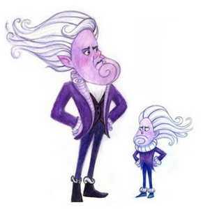 North Wind and his minion (official concept art)