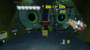 Spongebob SteelPants Interior