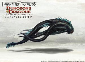 Aboleth monster by conceptopolis-d5rshhh