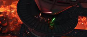 Asajj Ventress Luminara duel