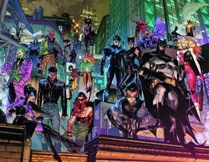 Batman Vol 3 106 Textless Wraparound Variant