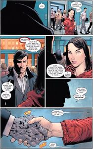 Bruce Wayne Earth -1 and Lois Lane Prime Earth 0001