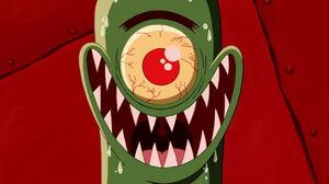Plankton's wicked evil grin movie