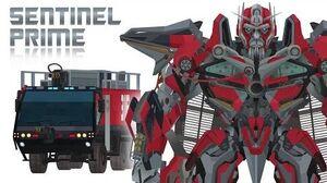SENTINEL PRIME - Short Flash Transformers Series