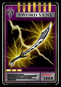 Sword Vent (Ryuga)