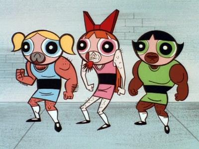 Fake Powerpuff Girls