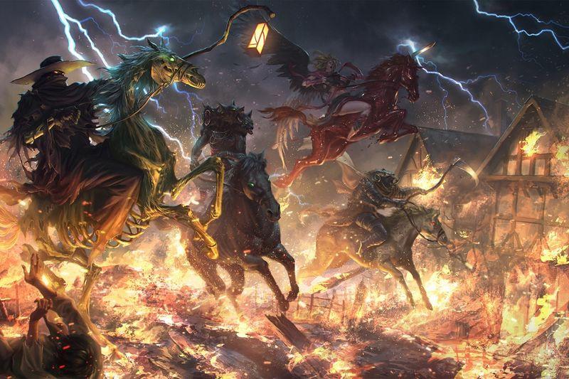 Horsemen of the Apocalypse (Pathfinder)