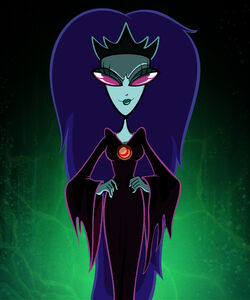 Arthur-zambaldi-courage-monsters-queen-of-the-black-puddle