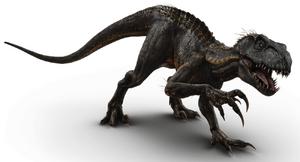 Indoraptor Artwork