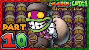 Mario & Luigi- Superstar Saga - Part 10 - Popple & Rookie!