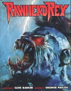 RAWHEAD REX (1986) blu ray cover 1