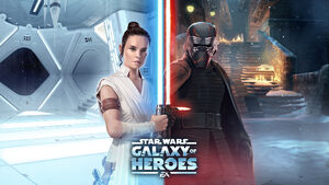 Star Wars Galaxy of Heroes - Galactic Legends Rey and Kylo