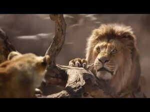 The Lion King (2019)- Stampede
