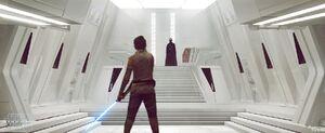 Rey in Kylo's Sanctuary art