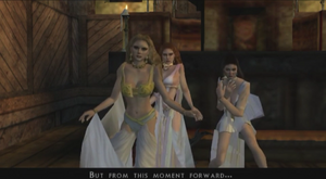 Brides of Dracula confront video game