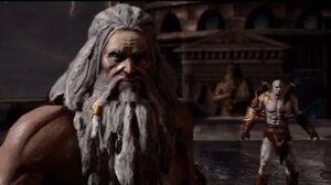 Zeus talking to Gaia
