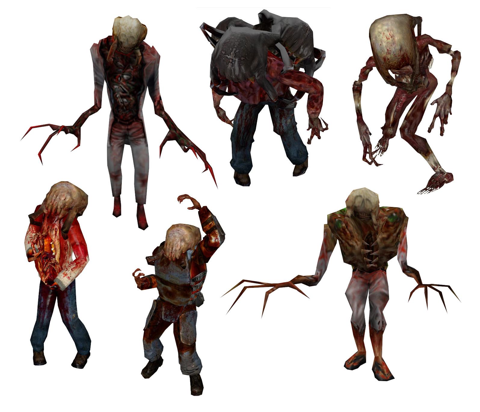Zombies (Half Life)