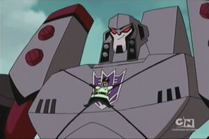Megatron with Professor Sumdac