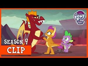 Smolder's Older Brother, Garble (Sweet and Smoky) - MLP- FiM -HD-