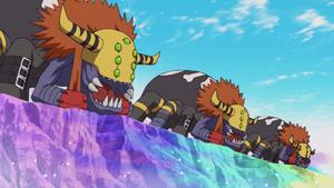 Dokugumon from Digimon 2020