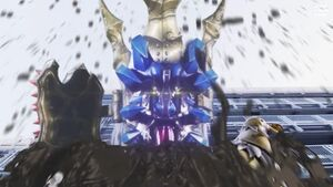 Emperor Yodon transforms into Yodonna