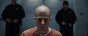 Lex Luthor Shaved Head
