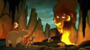 Lion Guard- Ushari bites Kion and scars him (HD)