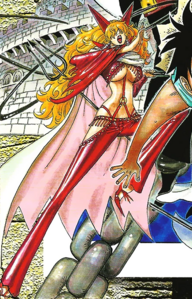 Sadi Manga Color Scheme