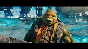 TMNT Out of The Shadows Turtles vs Krang HD