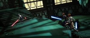 Ventress Jedi chase