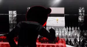 DJ Deadb3ar on the DJ set Yellow Trailer