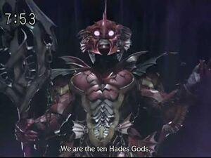Magiranger - Infershia - Hades Gods Intro